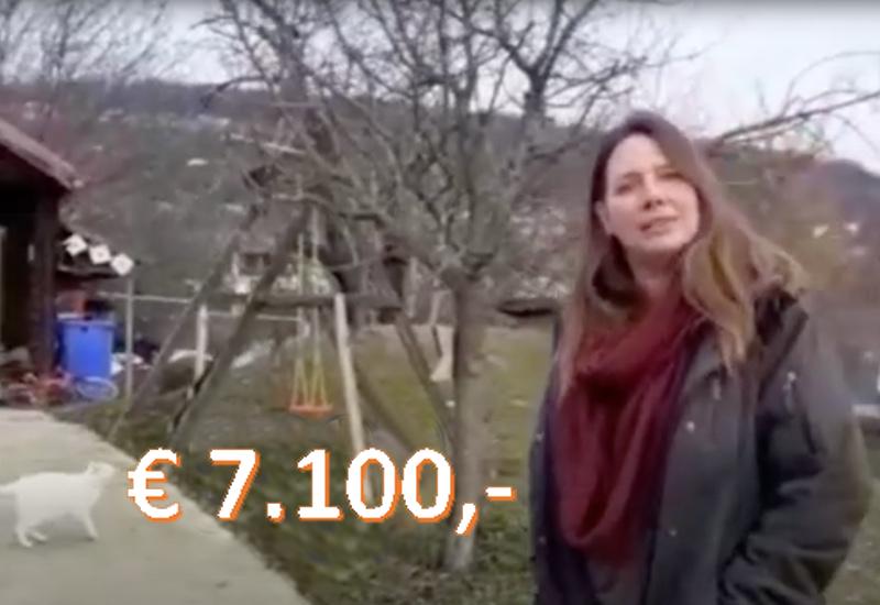 € 7.100,- voor Vrienden van Izvor
